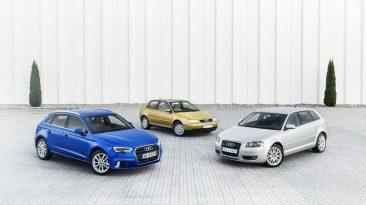 Historia Audi A3 20 años