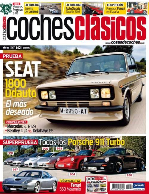 Revista COCHES CLÁSICOS número 142