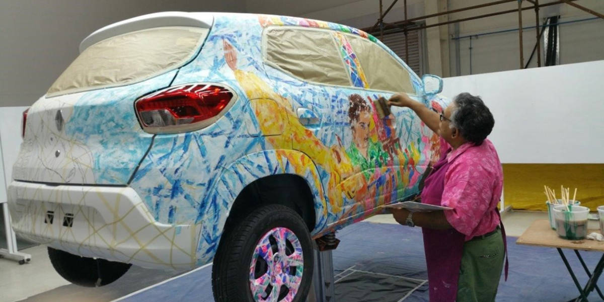 Lo llaman arte, un Renault Kwid Art Car