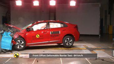 Resultados EuroNCAP Audi Q2, Hyundai IONIQ, Ford Edge, SsangYong Tivoli, Suzuki Ignis