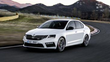 Skoda Octavia RS 2017 frontal