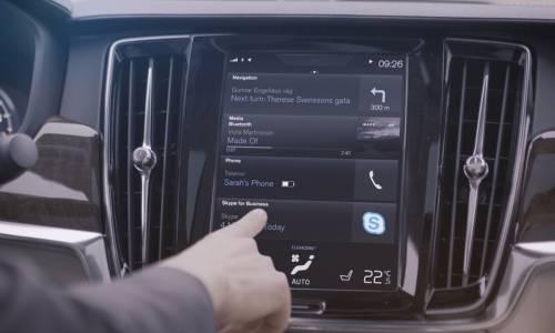 Skype llega a los coches de la mano de Volvo