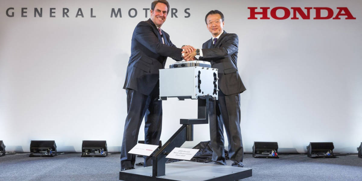 GM y Honda crean una empresa para fabricar pilas de combustible de hidrógeno