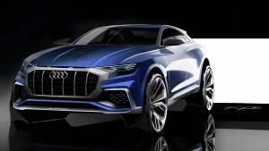 Audi Q8 Concept: un SUV coupé para dominarlos a todos (fotos)