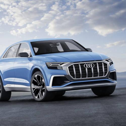 Audi Q8 Concept: un SUV coupé para dominarlos a todos