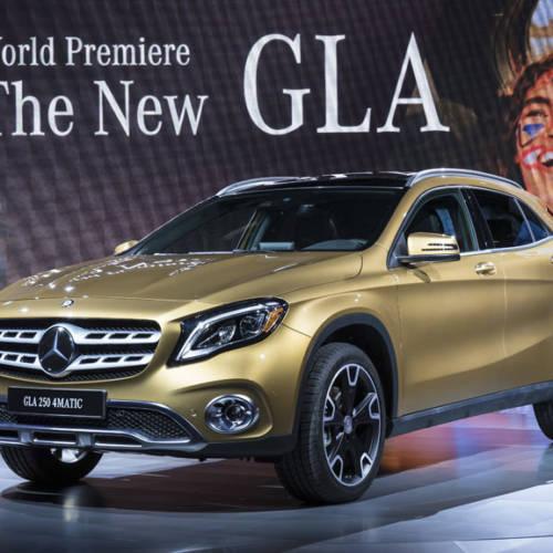 Mercedes-Benz presenta en el Salón de Detroit el nuevo aspecto del GLA