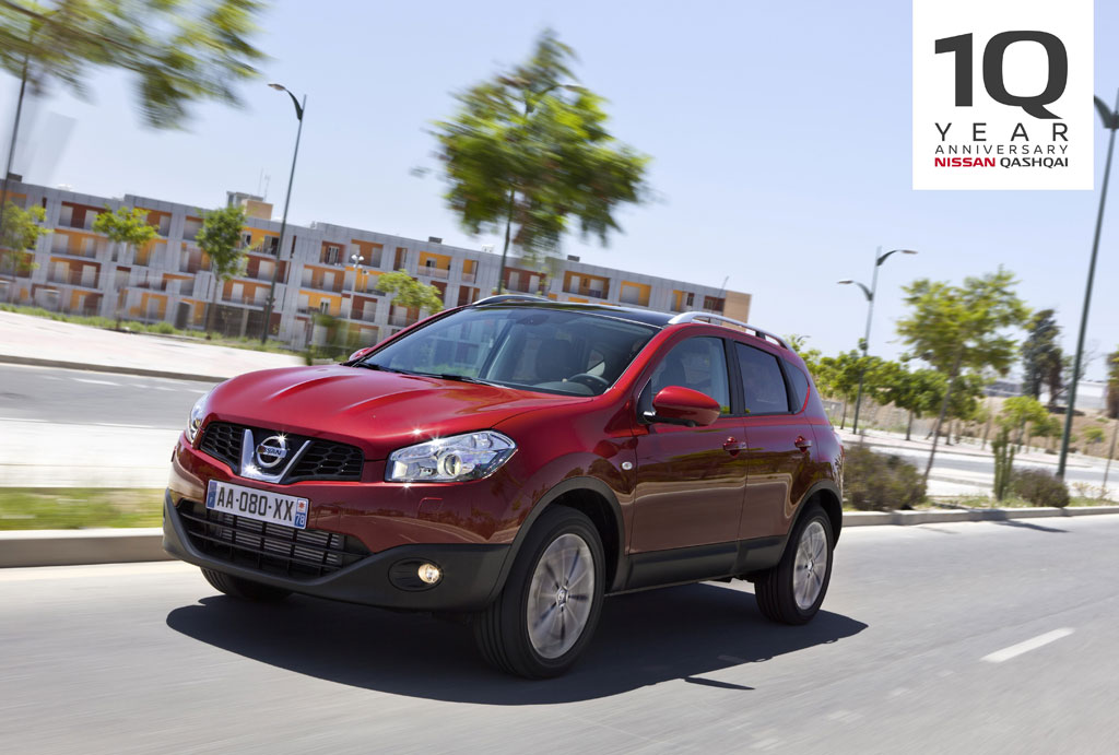 Nissan Qashqai- actualización primera generación