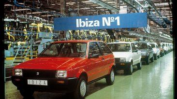 SEAT Ibiza - Primera unidad sale de la cadena