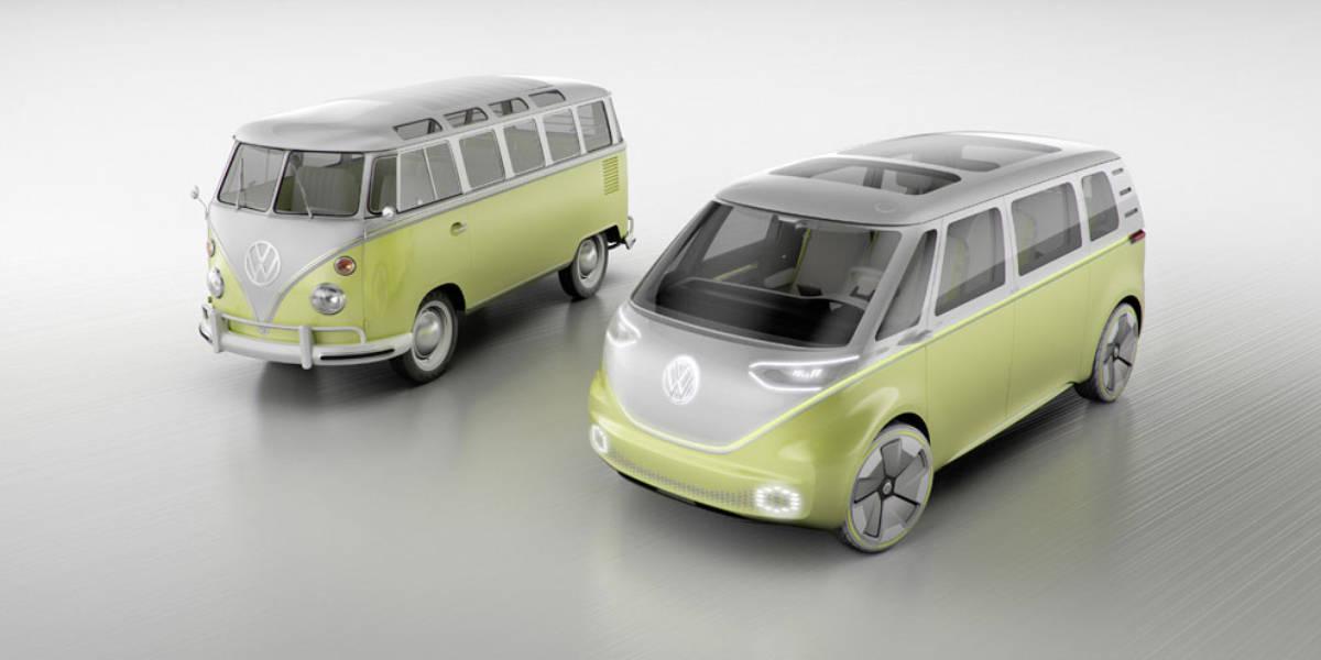 Volkswagen resucita el movimiento Flower Power con el I.D Buzz Concept