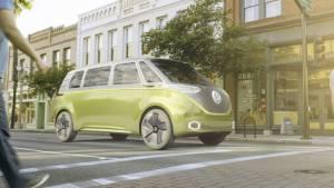 Volkswagen resucita el movimiento Flower Power con el I.D Buzz Concept (fotos)