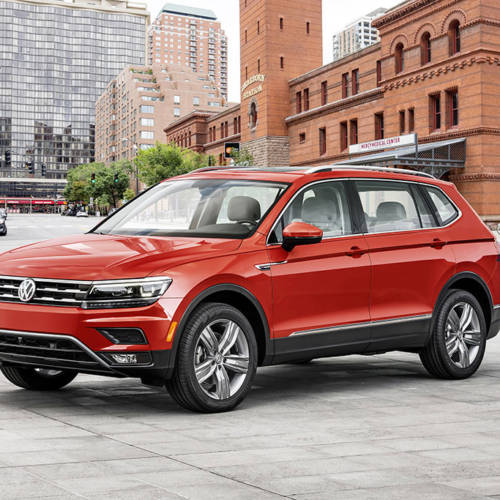 Volkswagen muestra en Detroit su apuesta por el segmento de los SUV