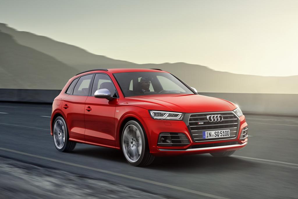 Audi SQ5 2017 frontal