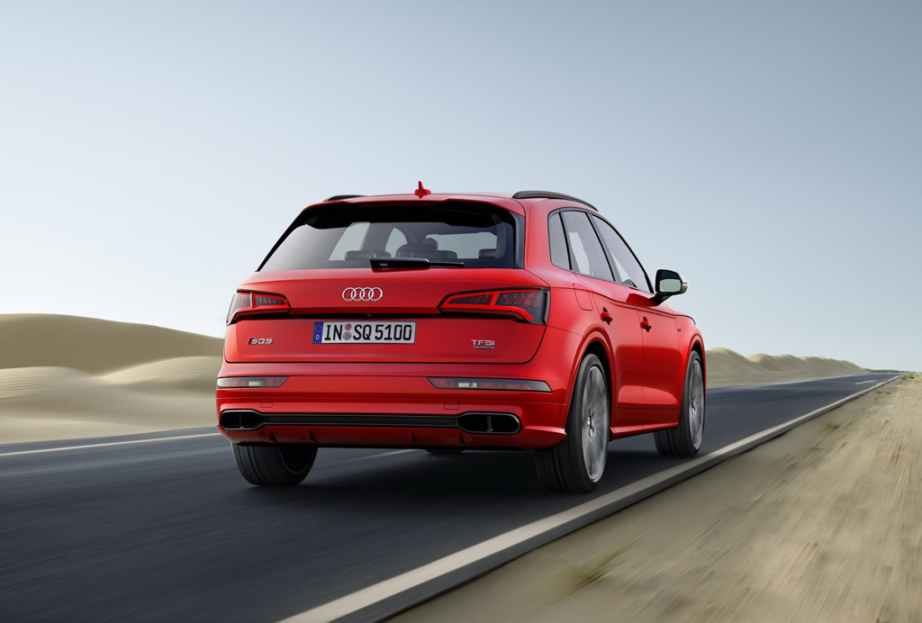 Audi SQ5 2017 trasera