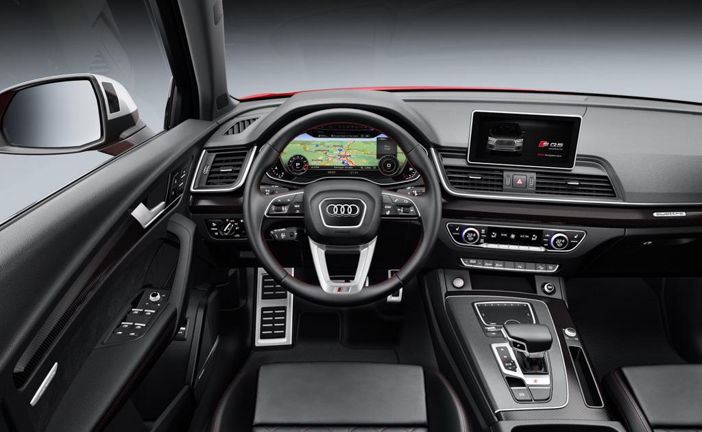 Audi SQ5 2017 interior