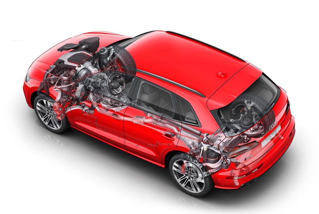 Audi SQ5 2017 mecánica