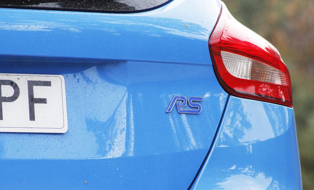 Ford Focus RS 2016 prueba logo