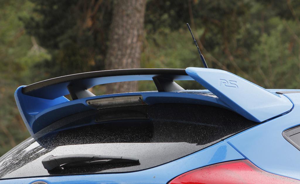 Ford Focus RS 2016 prueba alerón