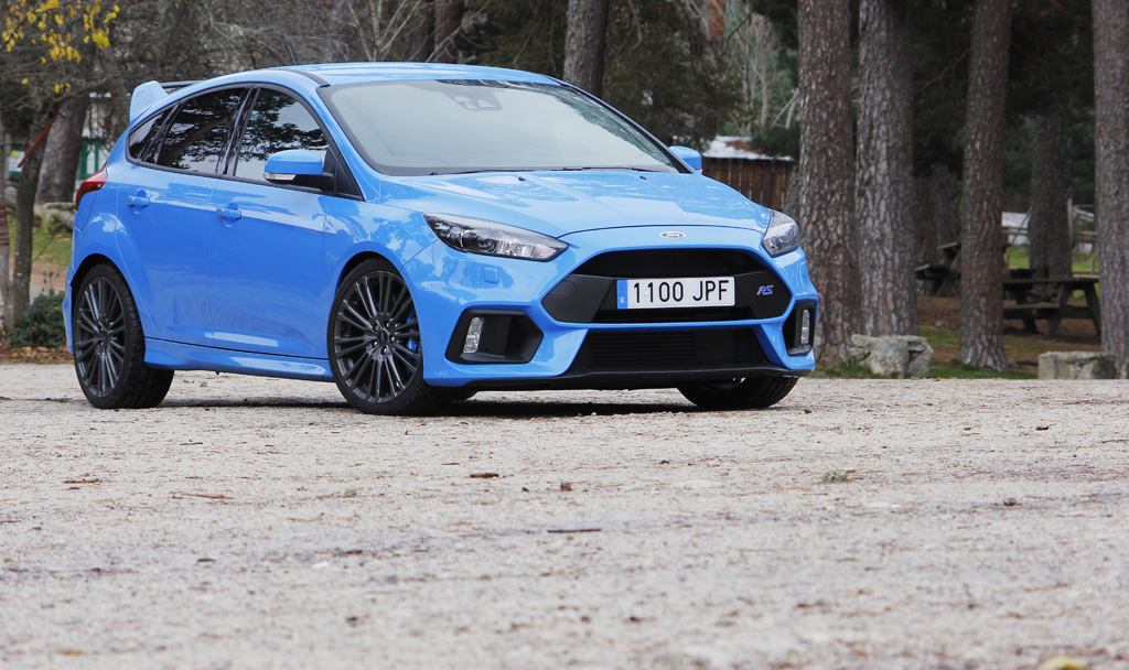Ford Focus RS 2016 prueba frontal