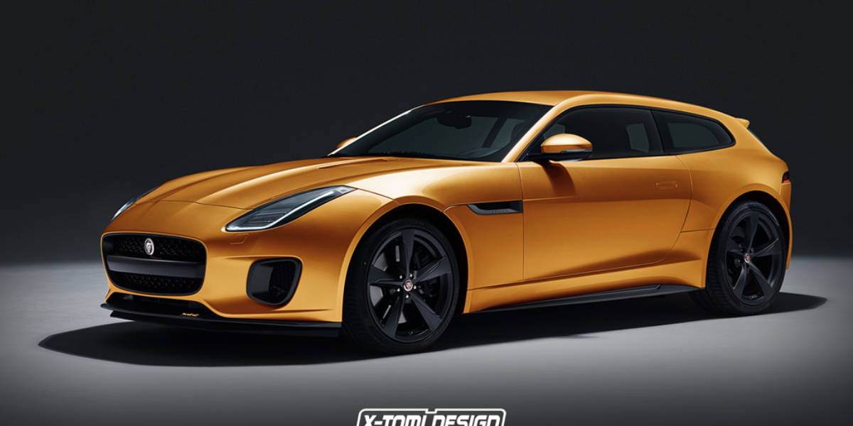 Enamórate de este Jaguar F-Type 400 Sport Shooting Brake