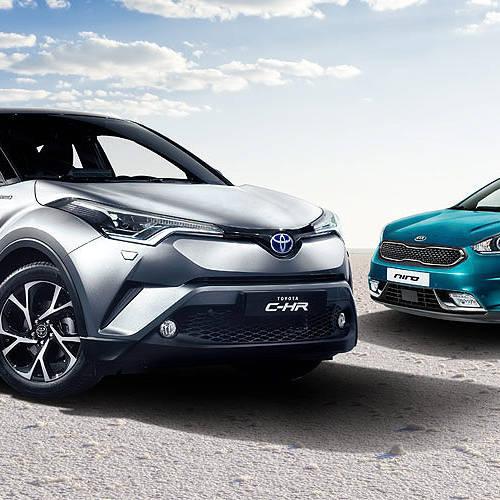 Toyota C-HR vs. KIA Niro, ¿cuál elegir?