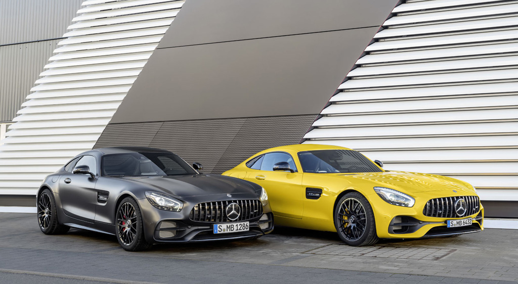 Mercedes-AMG GT 2017 frontal