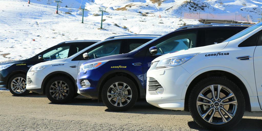Los neumáticos de Goodyear ofrecerán su servicio por montaña y nieve.