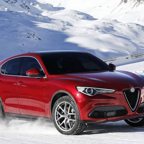 Alfa Romeo Stelvio, perfil de todocamino, garra de deportivo