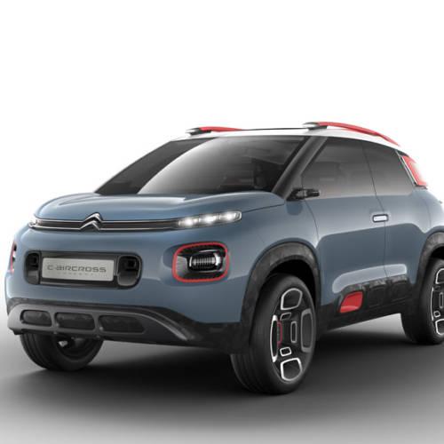 Citroën C-Aircross Concept 2017, lo que está por llegar