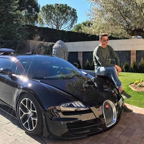 La historia de Cristiano Ronaldo y el Bugatti Chiron (vídeo)