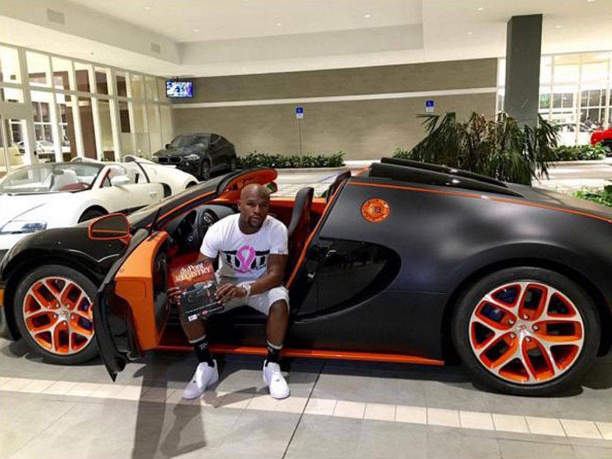 Floyd Mayweather - Bentley (6)