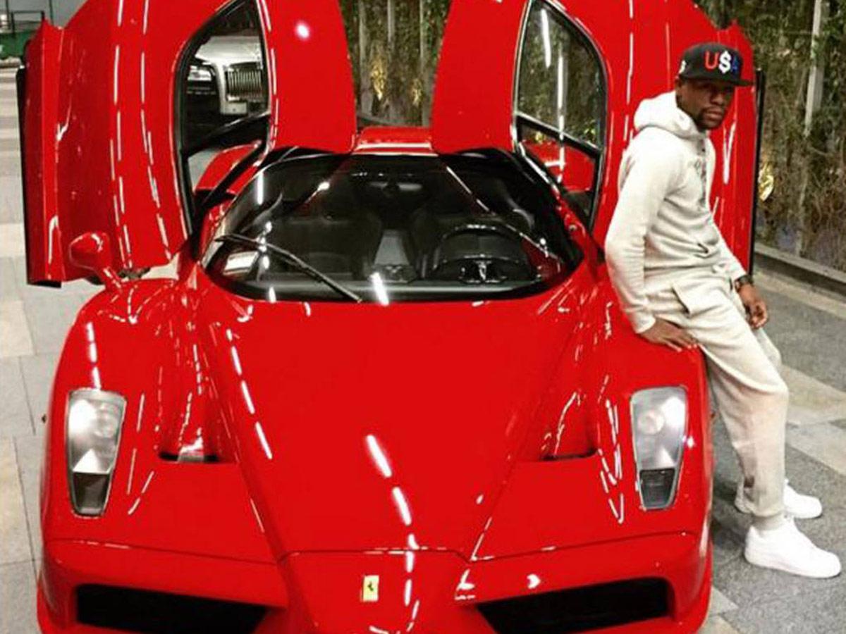 Floyd Mayweather - Ferrari Enzo(2)
