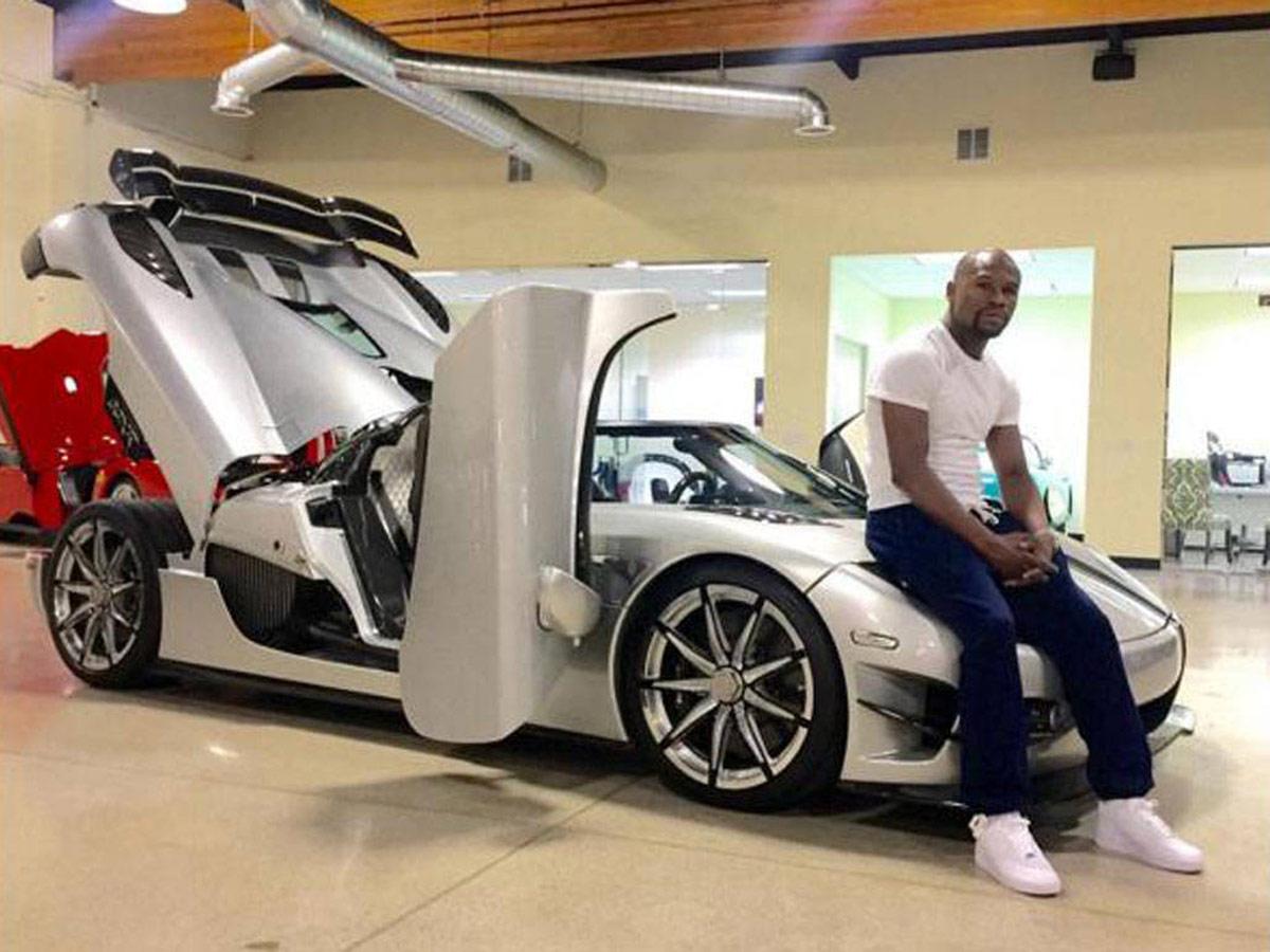 Floyd Mayweather - Koenigsegg