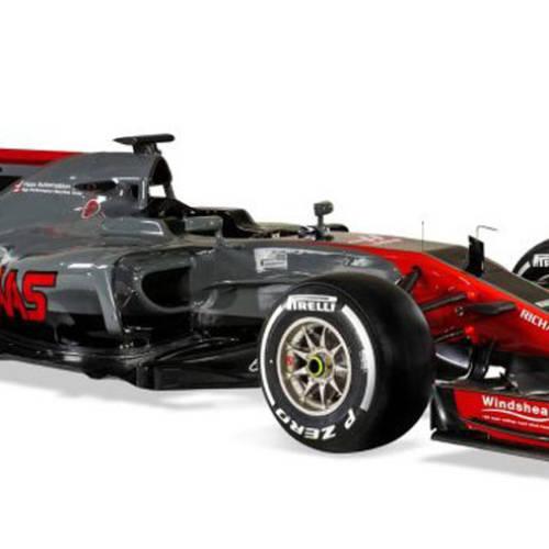 El VF-17, el segundo monoplaza de Haas en la Fórmula 1