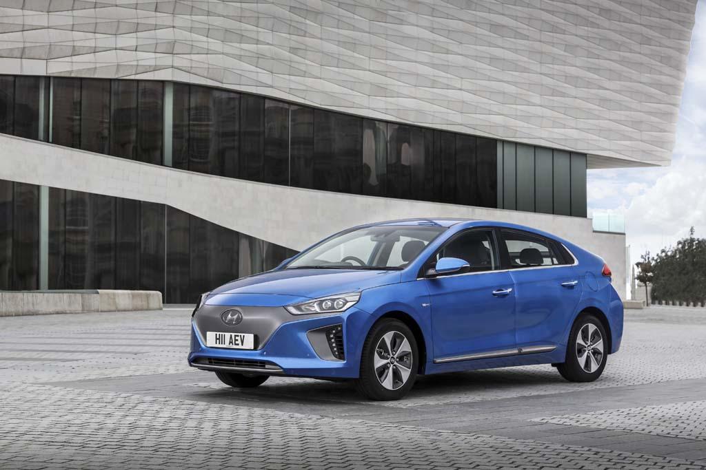 Hyundai IONIQ EV electricos con mas autonomia