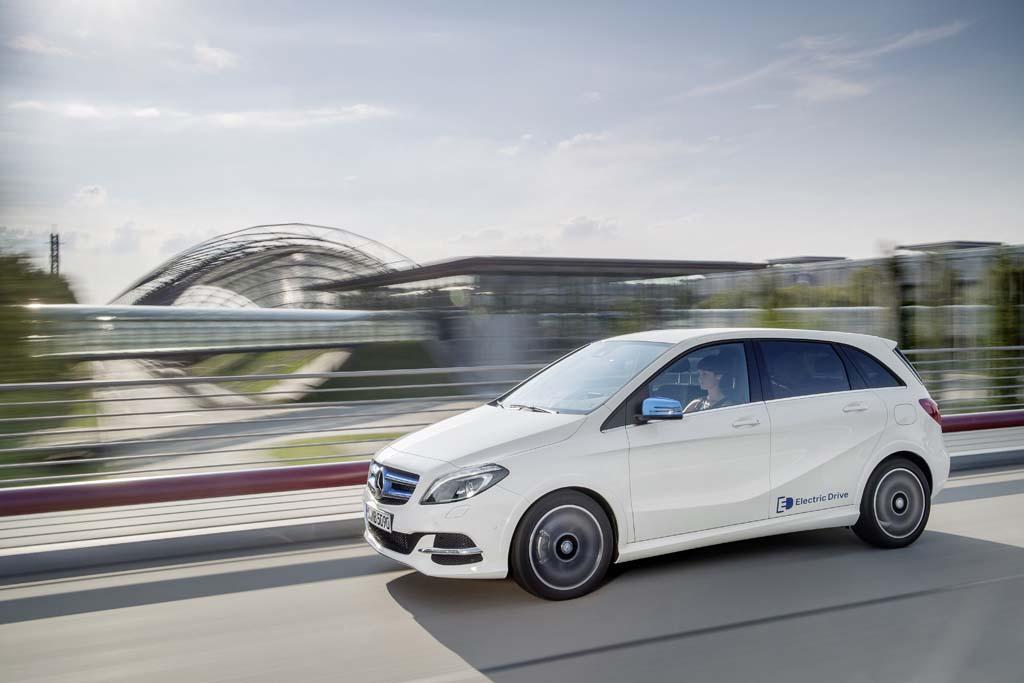 Mercedes-Benz Clase B Electric Drive electricos con mas autonomia