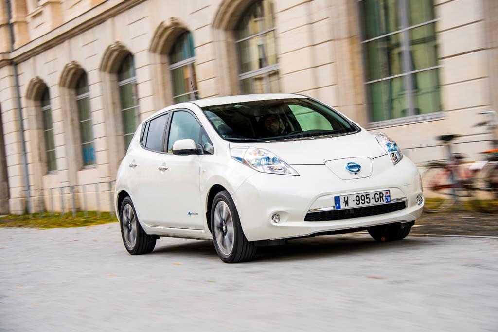 Nissan LEAF electricos con mas autonomia
