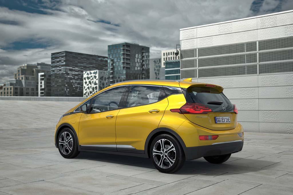Opel Ampera-e coches eléctricos con más autonomía