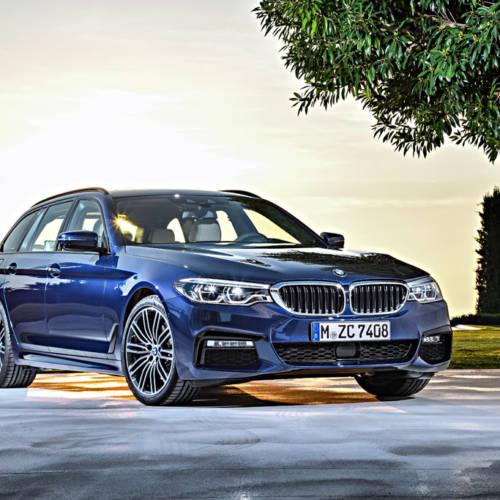 Llega el nuevo BMW Serie 5 Touring 2017, más ligero y amplio