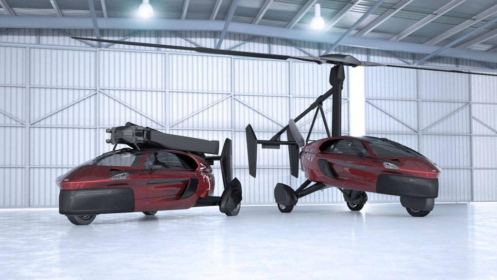 Primer coche volador del mercado