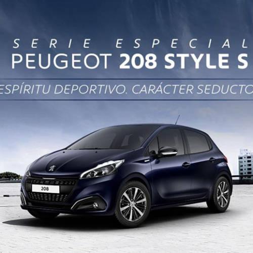 El Peugeot 208 y 308 estrenan serie especial Style S