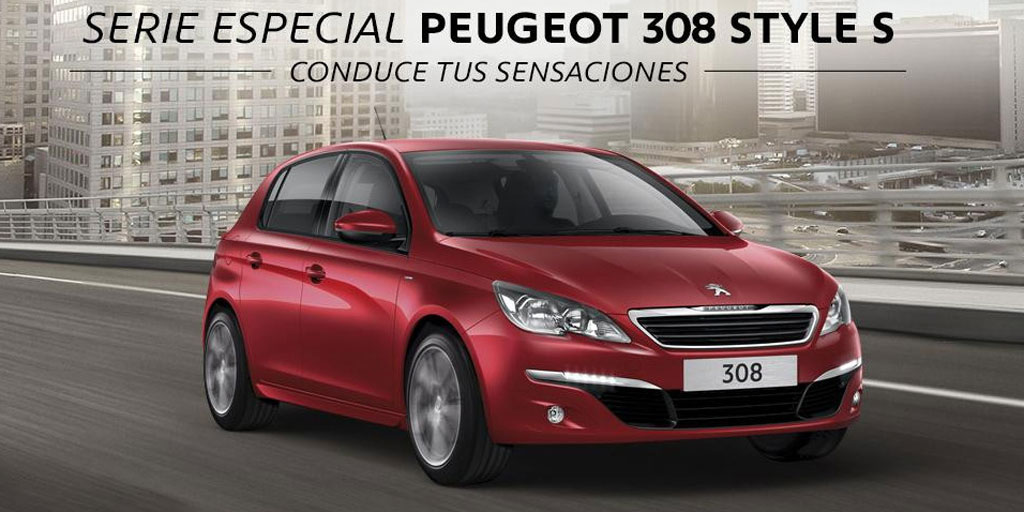el peugeot 208 y 308 estrenan serie especial style s. Black Bedroom Furniture Sets. Home Design Ideas