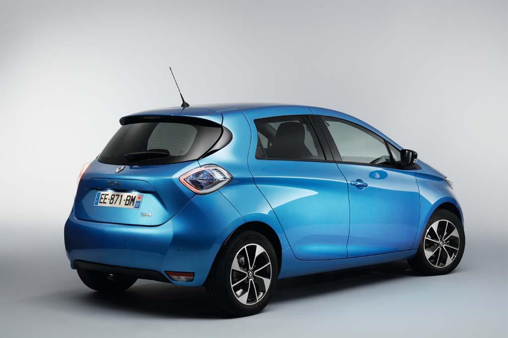 Renault ZOE 40 coches eléctricos con más autonomía