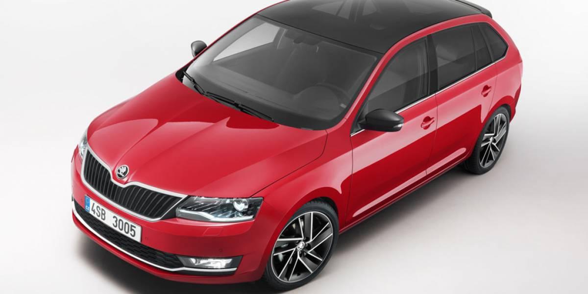 Škoda Spaceback y Škoda Rapid: más equipamiento de serie