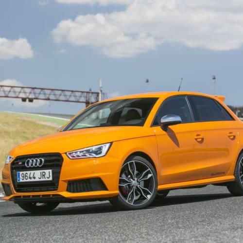 Audi S1 Sportback 2.0 TFSI 231 CV, a prueba: el diablo se viste de naranja