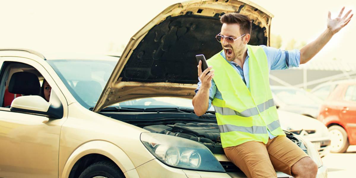 Las averías en el coche… provocadas por la carretera