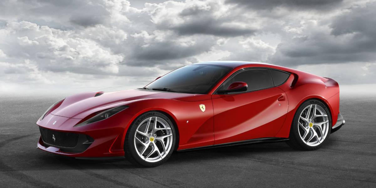 Ferrari 812 Superfast: más de 800 CV para el Salón de Ginebra 2017
