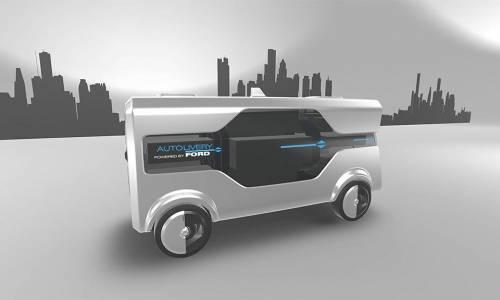 Ford Autolivery, el coche autónomo hecho por los trabajadores de Ford
