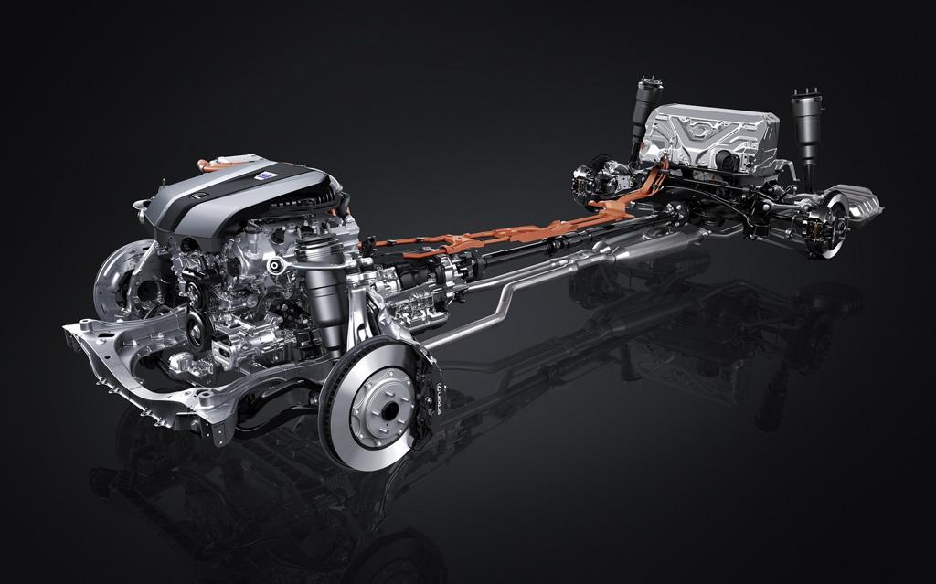 Lexus LS 500h MultiStage Hybrid System
