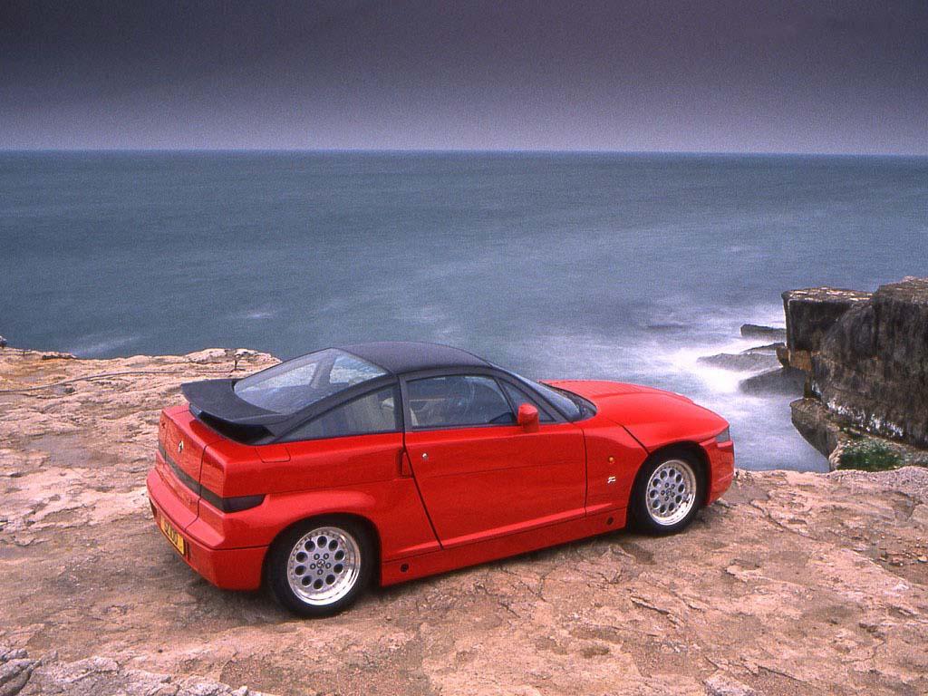Alfa Romeo SZ coches feos años 90