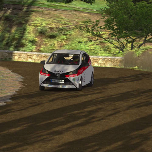Copa Kobe Toyota online, un campeonato de rallies virtual